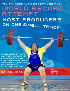 Hakan Lidbo sets musical World Record